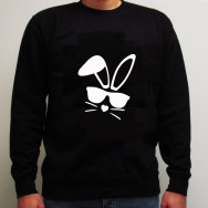Personalised Easter Bunny Unisex Sweatshirt