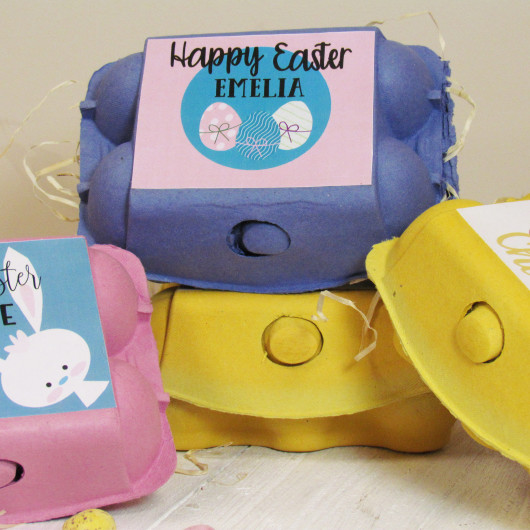 Personalised Easter Egg Box