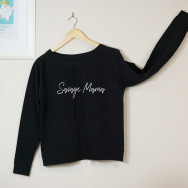 Personalised Savage Mama Slogan Sweatshirt