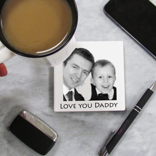 Personalised Personalised Photo Ceramic Coaster