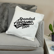 Personalised Father's Day Since Cushion