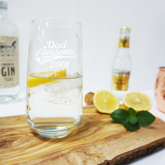 Personalised Father's Day Tall Tumbler