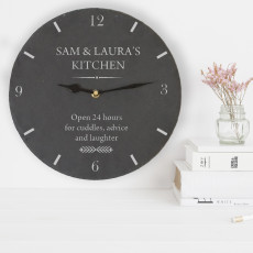 Kitchen Slate Clock