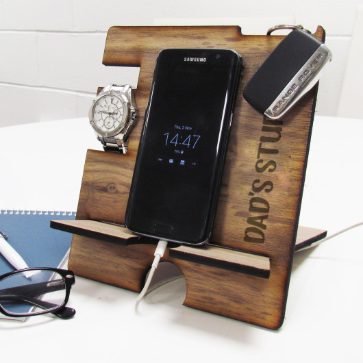 Personalised Phone, Watch & Accessories Holder