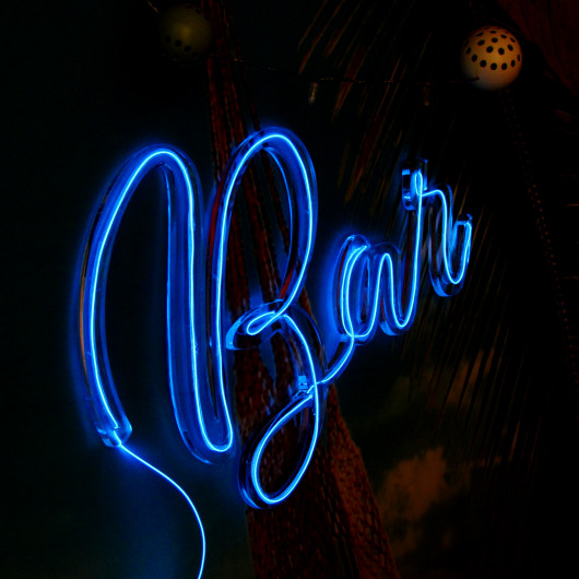Personalised Bar Neon Sign