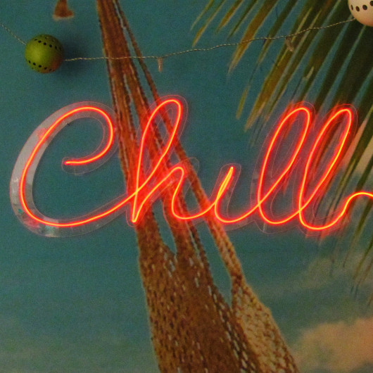 Personalised Chill Neon Sign