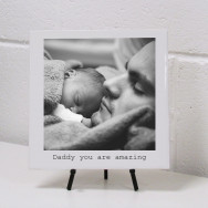 Personalised Ceramic Tile Photo