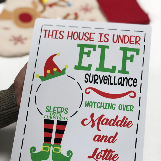 Personalised Countdown to Christmas Advent Calendar