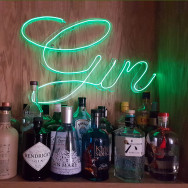 Personalised Neon Gin Sign
