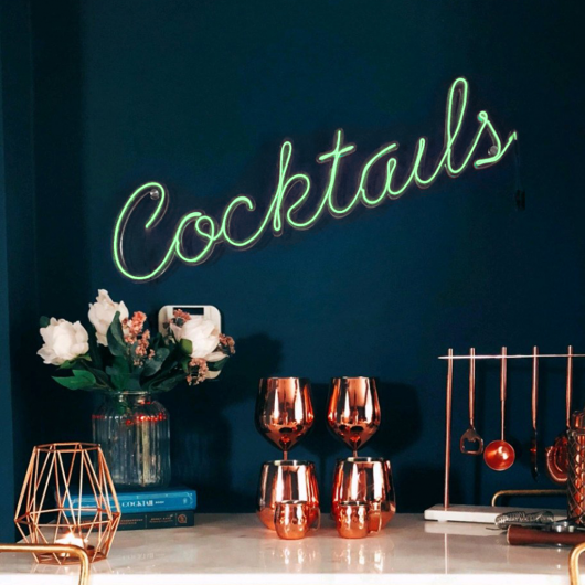 Personalised Cocktails Neon Sign