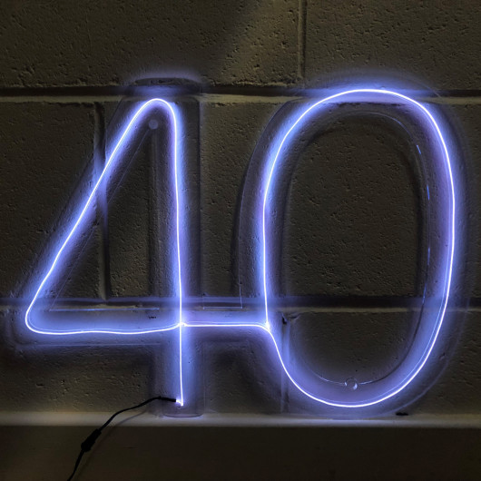 Personalised Personalised Any Number Neon Sign