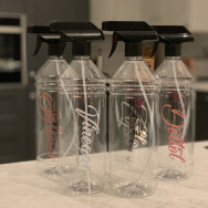 Personalised Hinch Inspired Spray Cleaning Bottles
