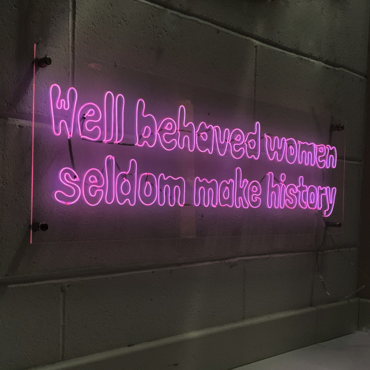 Personalised Well Behaved Women Seldom Make History