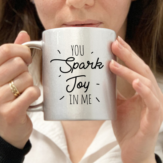 Personalised You Spark Joy in Me mug