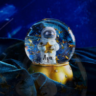 Personalised Personalised Outer Space Snow Globe