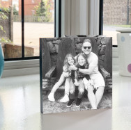Personalised Standing Photo Block