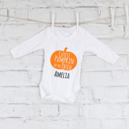 Personalised Personalised Halloween Baby Grow