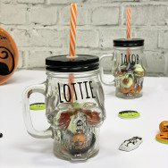Personalised Halloween Personalised Skull Mug