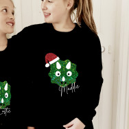 Personalised Personalised Children's Dinosaur Christmas Jumper