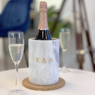 Personalised Personalised Marble Wine Cooler