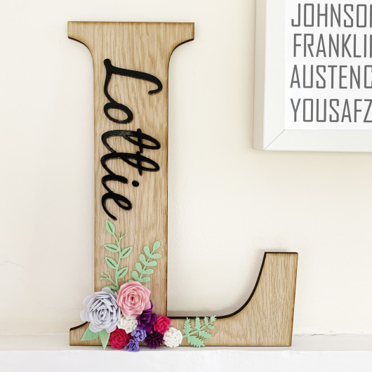 Personalised Personalised Decorative Letters