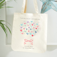 Personalised Personalised Teacher Tote Gift Bag