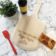Personalised Personalised Family Pizza Board
