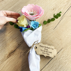 Personalised Personalised Handmade Mother's Day Felt Flower Bouquet