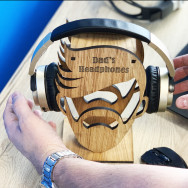Personalised Personalised Headphone Holder