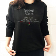 Personalised Christmas 2020 Lockdown Jumper