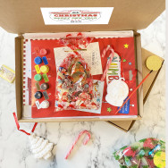 Personalised Christmas Letterbox Sweet And Activity Box Gift