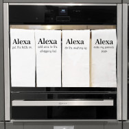 Personalised Funny Alexa Tea Towels