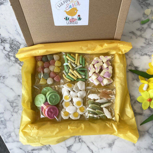 Personalised Easter Sweet Selection Letterbox Gift