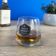 Personalised Personalised Whisky Glass