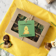 Personalised Personalised Novelty Chocolate Duck Gift Box