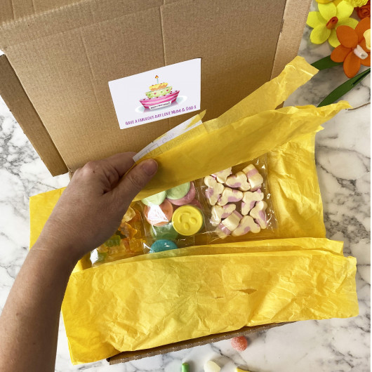 Personalised Birthday Sweet Selection Letter Box Gift