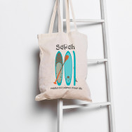 Personalised Personalised I Paddle For Balance Sup Tote Bag
