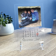 Personalised Printed Special Date Father's Day Photo And Frame