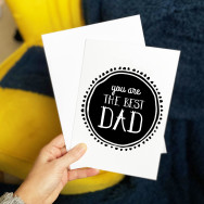 Personalised You Are The Best Dad Father's Day Card