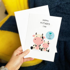 Personalised Cute Father's Day Card