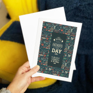 Personalised Hipster Dad Father's Day Card