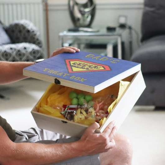 Personalised Personalised Father's Day Treat Box