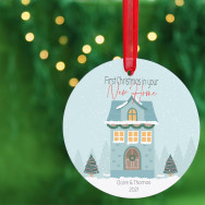Personalised Personalised New Home Christmas Bauble