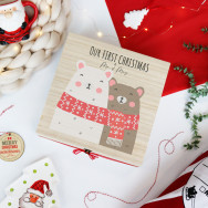 Personalised First Christmas As Mr And Mrs Christmas Eve Box