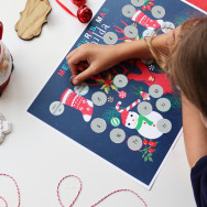 Personalised Personalised Scratch Off Activity Advent Calendar