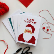 Personalised Pack Of 10 Christmas Variety Cards