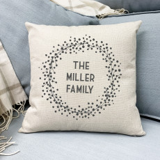 Personalised The Family Cushion